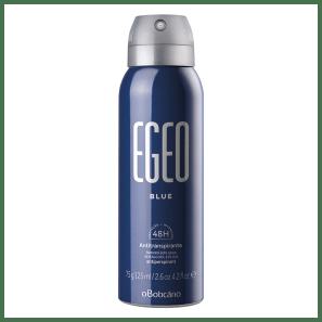 Desodorante Antitranspirante Aerossol Egeo Blue 75g/125ml