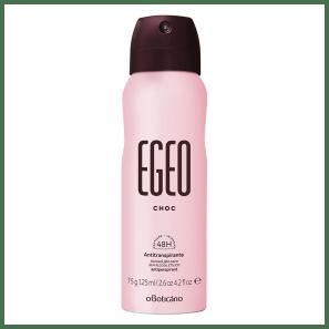 Desodorante Antitranspirante Aerosol Egeo Choc 75g/125ml