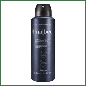Desodorante Antitranspirante Aerossol Malbec Noir 75g/125ml
