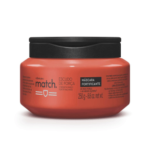 Máscara Capilar Match Escudo de Força, 250 g