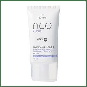 Eudora Neo Essens Máxima Ação Antiacne - Hidratante facial