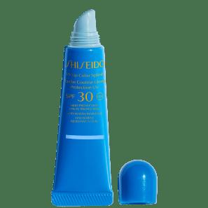 Shiseido UV Lip Color Splash FPS 30 Tahiti Blue - Gloss Hidratante 10ml