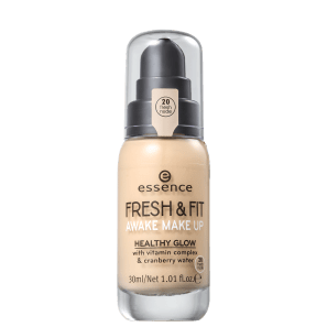 Essence Fresh & Fit 20 Fresh Nude - Base Líquida