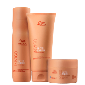 Kit Wella Professionals Invigo Nutri-Enrich Trio (3 Produtos)