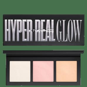 M·A·C Hyper Real Palette Glow Get Lit - Paleta de Iluminadores 4,5g