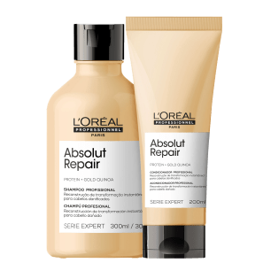 Kit L'Oréal Absolut Repair Gold Quinoa + Protein Duo
