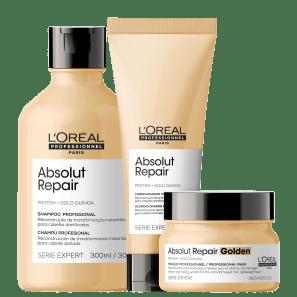 Kit L'Oréal Absolut Repair Gold Quinoa + Protein Golden