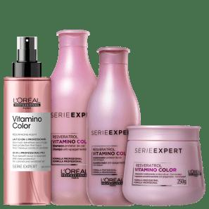 Kit L'Oréal Professionnel Serie Expert Vitamino Color Resveratrol Full
