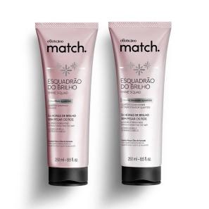 Combo Match Brilho: Shampoo + Condicionador