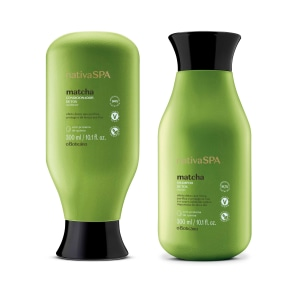 Combo Nativa Spa Matcha: Shampoo, 300Ml + Condicionador, 300Ml
