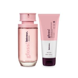 Combo Intense Gloss!: Desodorante Colônia 50ml + Loção Corporal 200ml