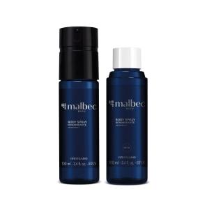 Combo Malbec Bleu: Body Spray 100ml + Refil 100ml