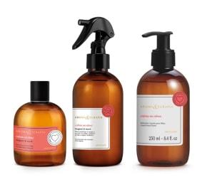 Combo Aroma & Terapia Calma na Alma: Desodorante Colônia 75ml + Sabonete Líquido para Mãos 250ml + Aromatizador de Ambiente 250ml