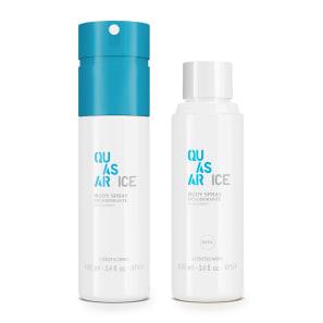 Combo Quasar Ice: Body Spray 100ml + Refil Body Spray 100ml