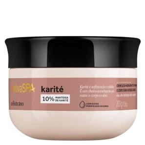 o Boticário Nativa SPA Karité - Creme Hidratante Desodorante Corporal 200g