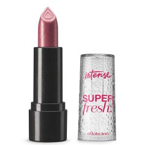 Batom Efeito Natural Glitter Rosa Intense Super Fresh! 3,4 g