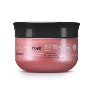 Máscara Vitalidade E Proteção Nativa Spa Rosé 200g