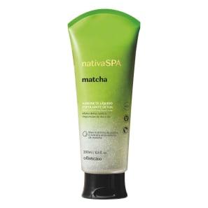 Nativa Spa Sabonete Líquido Esfoliante Detox Matcha, 200 ml