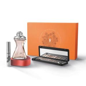 Kit Presente Make B. e Glamour: Palette de Maquiagem 8g + Máscara Cílios Postiços 12g + Glamour Desodorante Colônia 75ml