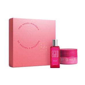 Kit Presente Dia das Mães Egeo Dolce: Desodorante Colônia 50ml + Merengue Mousse 250g