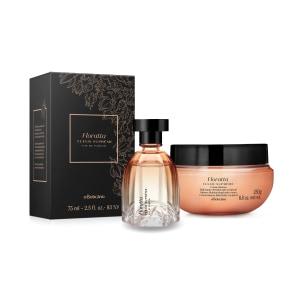 Combo Presente Floratta Fleur Suprême: Eau de Parfum 75ml + Creme Corporal 250g