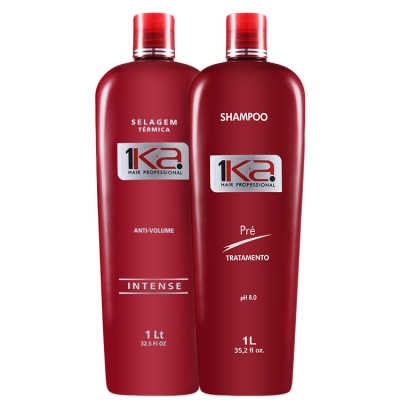 1Ka Hair Anti-Volume Kit (2 Produtos)