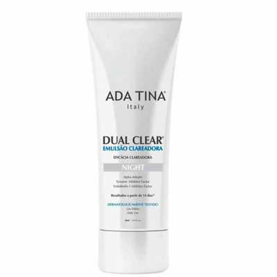 Ada Tina Dual Clear Night - Emulsão Clareadora Facial 30ml