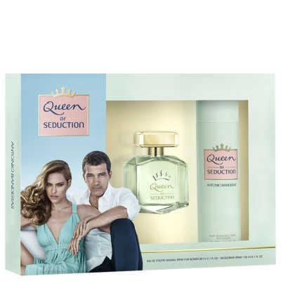 Antonio Banderas Conjunto Feminino Queen of Seduction - Eau de Toilette 80ml + Desodorante 150ml