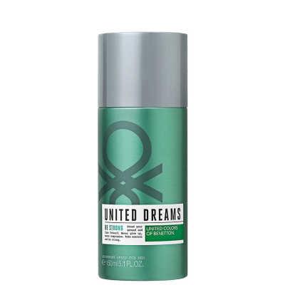 Benetton United Dreams Be Strong Deodorant Spray For Men - Desodorante 150ml