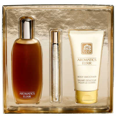 Clinique Conjunto Feminino Aromatics Elixir Riches - Eau de Parfum 100ml + Loção Corporal 75ml + Miniatura 10ml