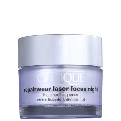 Clinique Repairwear Laser Focus Night Line Smoothing Cream 1 e 2 (pele seca) - Creme Noturno 50ml