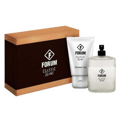 Forum Conjunto Unissex Classic Jeans - Eau de Toilette 100ml + Gel de Banho 90ml