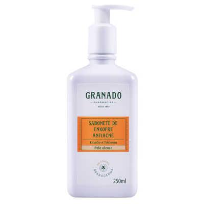 Granado Granaderma Oil-Control Sabonete de Enxofre Antiacne - Sabonete Líquido 250ml