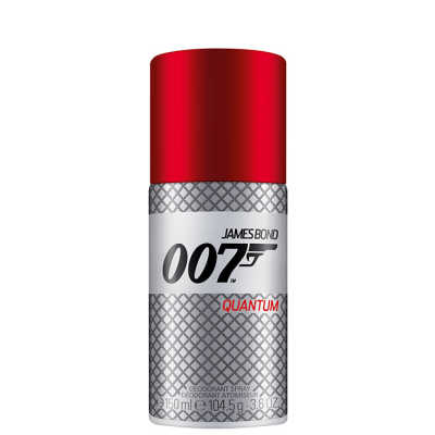 James Bond 007 Quantum Deodorant Spray Masculino - Desodorante 150ml