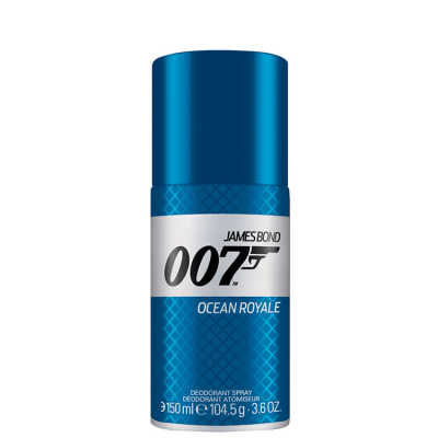 James Bond Ocean Royale Deodorant Spray Masculino - Desodorante 150ml