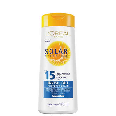 L´Oréal Paris Solar Expertise Invisilight FPS 15 - Protetor Solar 120ml