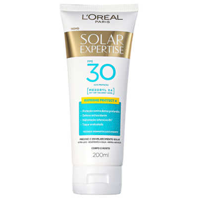 L'Oreál Paris Solar Expertise Supreme Protect 4 FPS 30 - Protetor Solar 200ml