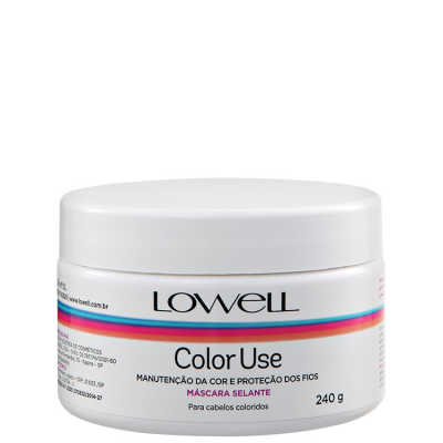 Lowell Color Use – Máscara Selante 240g