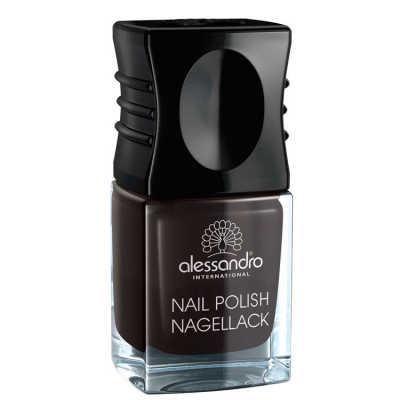 Alessandro Nail Polish Midnight Black - Esmalte 10ml