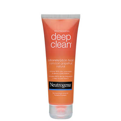 Neutrogena Deep Clean Grapefruit - Gel de Limpeza Facial 80g