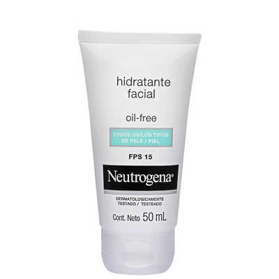 Neutrogena Oil Free - Gel Creme Hidratante Fps15 50ml
