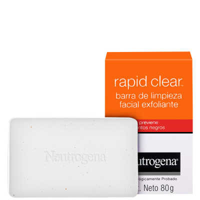 Neutrogena Rapid Clear Anti-Cravos - Sabonete Facial Esfoliante 80g