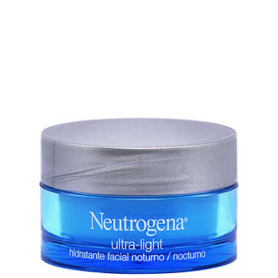 Neutrogena Ultra-Light - Creme Hidratante Noturno 50g
