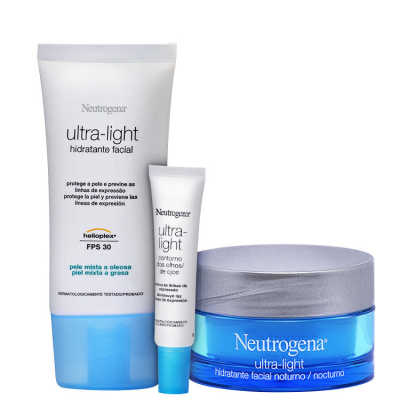 Neutrogena Ultra-Light - Trio de Tratamento (3 Produtos)