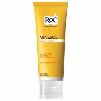 RoC Minesol Actif Fps60 - Protetor Solar 50g