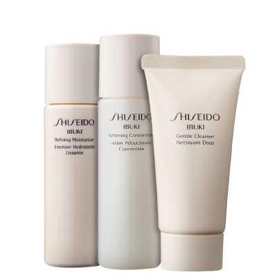 Shiseido Ready, Set, Ibuki Kit (3 Produtos)