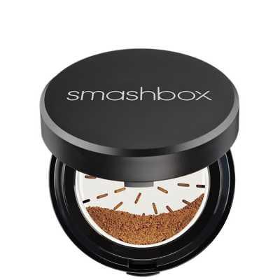 Smashbox Halo Hydrating Perfecting Powder Medium/Dark - Pó Compacto 15g