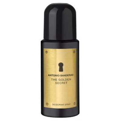 Antonio Banderas The Golden Secret - Desodorante Masculino 150ml