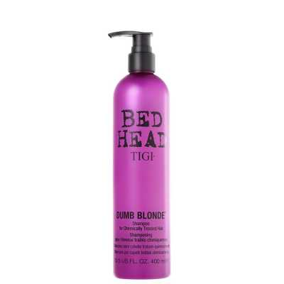 TIGI Bed Head Dumb Blonde for Chemically Treated Hair - Shampoo 400ml