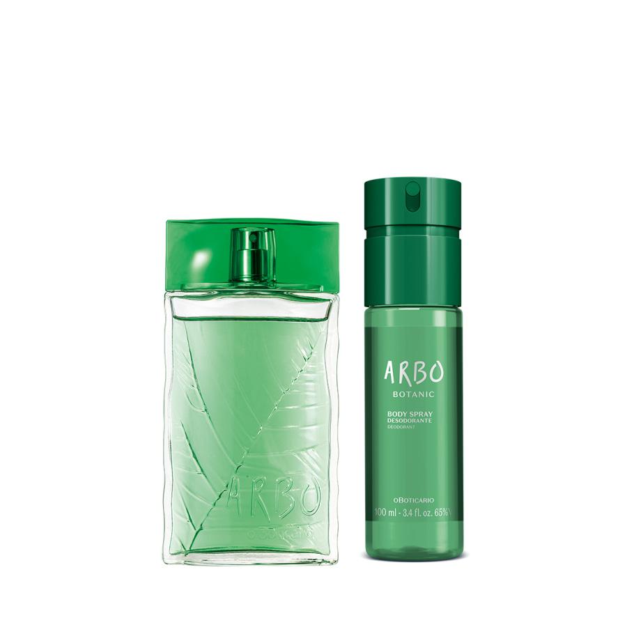 Combo Arbo Botanic: Desodorante Colônia 100ml + Body Spray 100ml